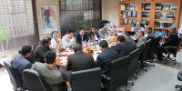 جلسه کمیته انتقال مدیریت آبیاری