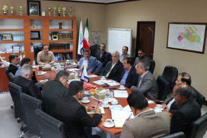 برگزاری جلسات متعدد و پیاپی در بیست روز گذشته در شرکت بهره برداری از شبکه های آبیاری کرخه و شاوور