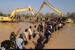 تشریح عملکرد شرکت کرخه و شاوور درمدیریت بحران سیلاب