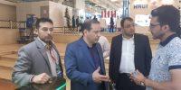 حضور مدیرعامل و مدیر حراست در نمایشگاه تهران۲