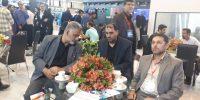 حضور مدیرعامل و مدیر حراست در نمایشگاه تهران۳