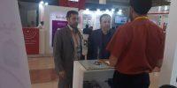 حضور مدیرعامل و مدیر حراست در نمایشگاه تهران۴