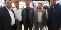 حضور مدیرعامل و مدیر حراست در نمایشگاه تهران۵