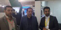 حضور مدیرعامل و مدیر حراست در نمایشگاه تهران۶