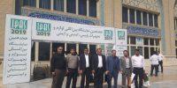 خبر _ حضور مدیرعامل و مدیر حراست در نمایشگاه تهران۱