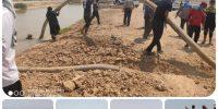 برخورد با متخلفین و برداشت کنندگان غیر مجاز آب در سطح حوزه کرخه جنوبی